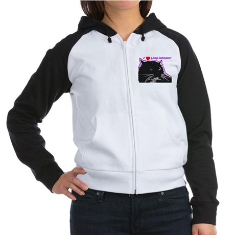 Long Johnson Women's Raglan Hoodie