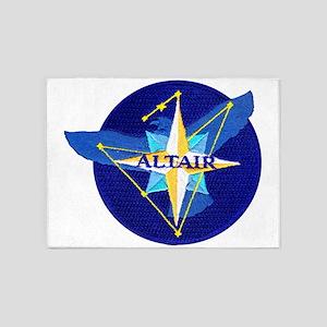 NROL-25 Altair Logo 5'x7'Area Rug