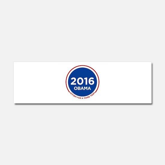 Obama 2016 Car Magnet 10 x 3