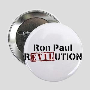 """RON PAUL IS EVIL 2.25"""" Button"""