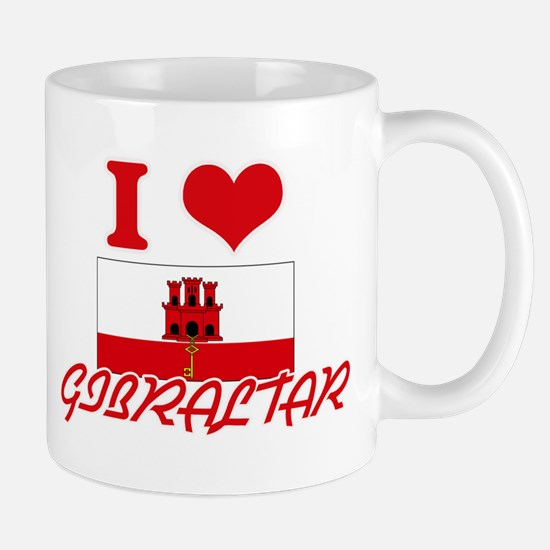 I Love Gibraltar Mugs