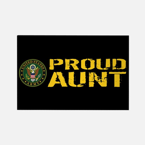 U.S. Army: Proud Aunt Rectangle Magnet