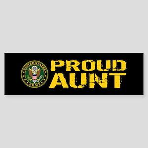 U.S. Army: Proud Aunt Sticker (Bumper)