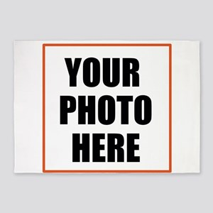 Your Photo Here 5'x7'Area Rug