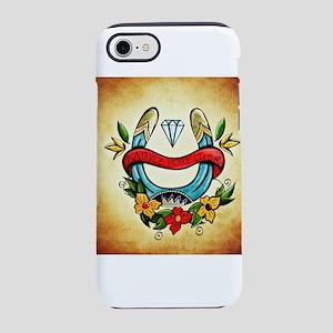 Make Your Luck Horseshoe iPhone 8/7 Tough Case