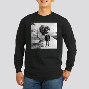 """The Kid"" Long Sleeve Dark T-Shirt"