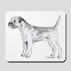 Border Terrier Mousepad