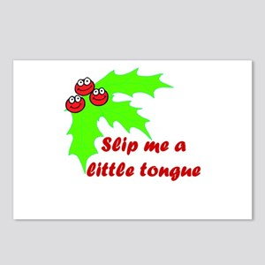 Slip me a little Tongue  Postcards (Package of 8)