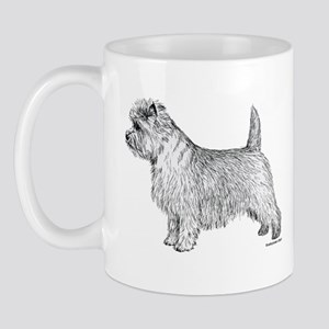 Cairn Terrier side Mug