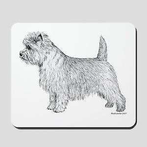 Cairn Terrier side Mousepad