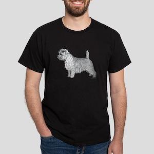 Cairn Terrier side Dark T-Shirt