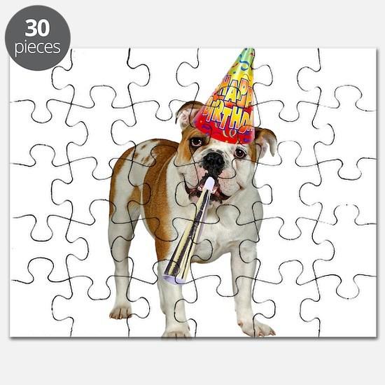 Bulldog Birthday Puzzle