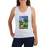 T-shirt sans manche femme Chasseur
