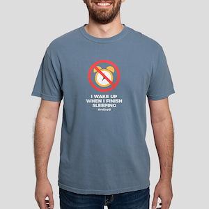 Retired No Alarm Clock Retirement Funny Li T-Shirt