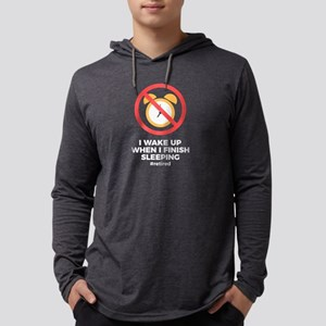 Retired No Alarm Clock Retirem Long Sleeve T-Shirt