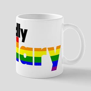 Proudly Hillary Rainbow Mugs