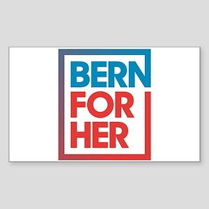 BernForHer Logo Sticker