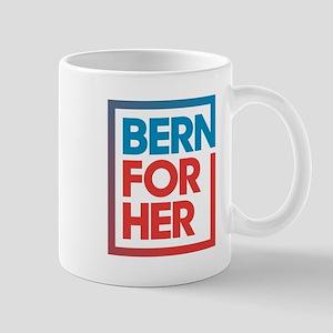 BernForHer Logo Mugs