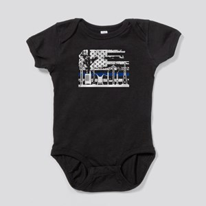 Lineman Flag Shirt Baby Bodysuit