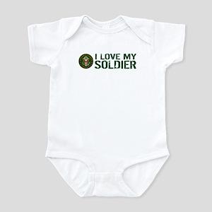 U.S. Army: I Love My Soldier (Gree Infant Bodysuit