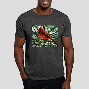 Cardinal Finch Impasto Dark T-Shirt