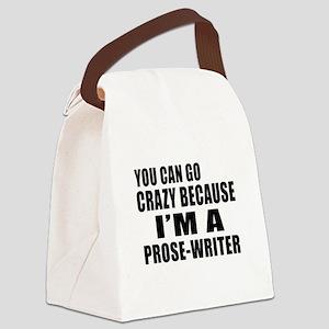 I Am Prose-writer Canvas Lunch Bag
