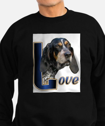 Bluetick Coonhound Love Sweatshirt