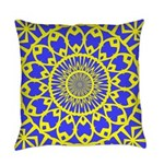 yellow_wheels_png Everyday Pillow