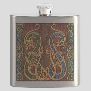 Harvest Moon's Viking Dragons Flask