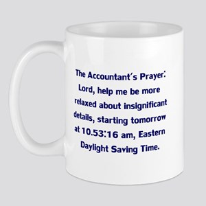 Accountant's Prayer Mug