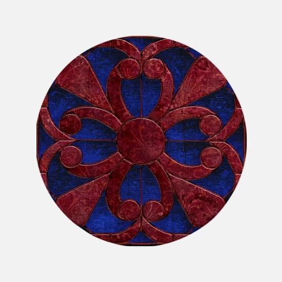 Harvest Moons Renaissance Quilt Button