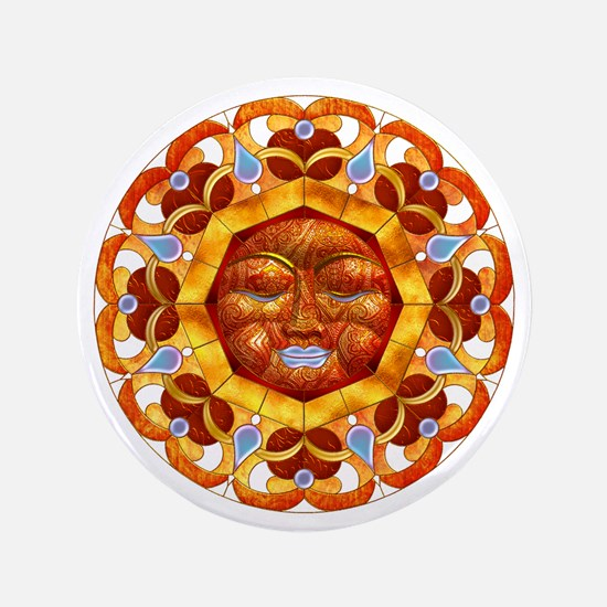 Harvest Moons Serene Sun Button