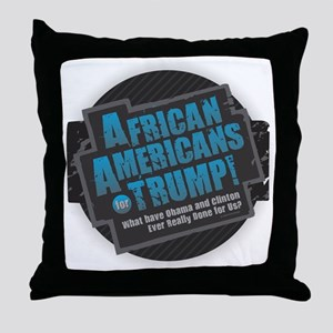Trump Throw Pillow