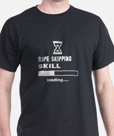 Rope Skipping skill loading.... T-Shirt