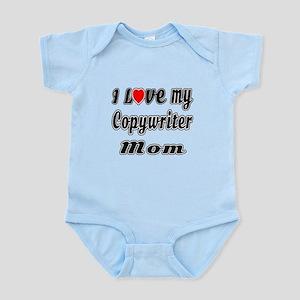 I Love My COPYWRITER Mom Infant Bodysuit