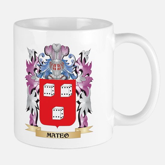 Mateo Coat of Arms - Family Crest Mugs