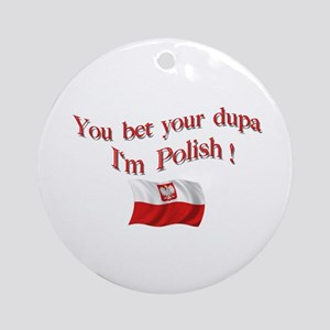 Polish Dupa 3 Keepsake Ornament