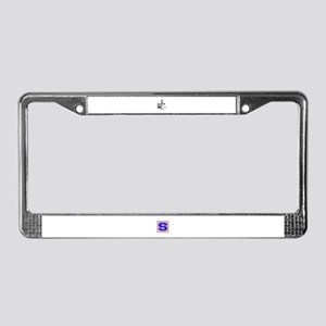 Roller Skating skill loading.. License Plate Frame