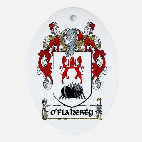 O'Flaherty Coat of Arms Keepsake Ornament
