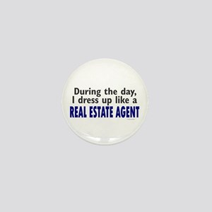 Dress Up Like A Real Estate Agent Mini Button