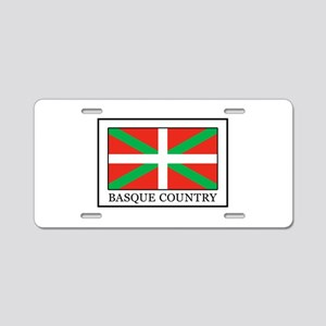 Basque Country Aluminum License Plate