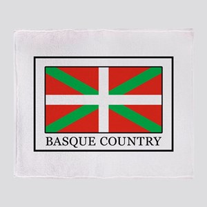Basque Country Throw Blanket