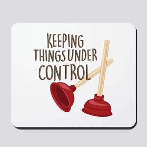 Under Control Mousepad