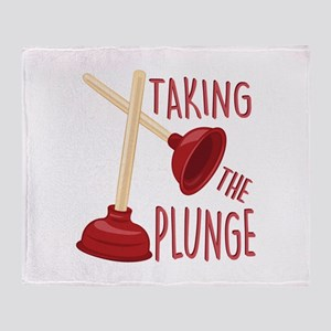 The Plunge Throw Blanket