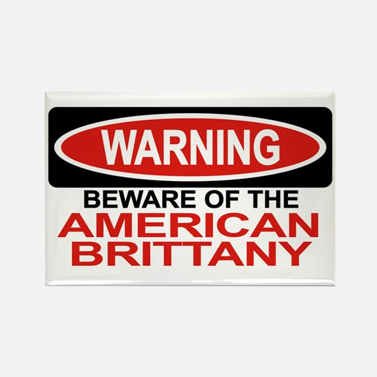 AMERICAN BRITTANY Rectangle Magnet (10 pack)