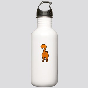 Funny Happy Orange Kit Stainless Water Bottle 1.0L
