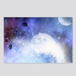 The universe Postcards (Package of 8)