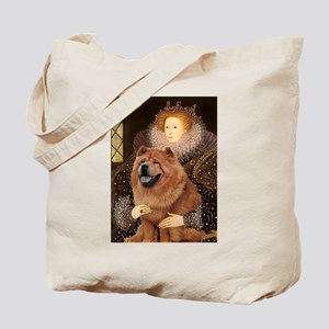 Queen / Chow (red) Tote Bag