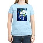 Apple Blossom Blues Women's Light T-Shirt