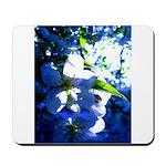 Apple Blossom Blues Mousepad